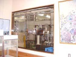 工場の内部