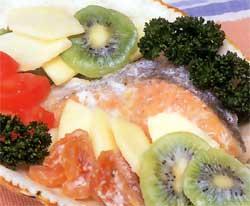 鮭のヨーグルトマリネ